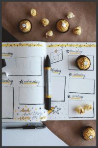 Bullet Journaling for Weight Loss